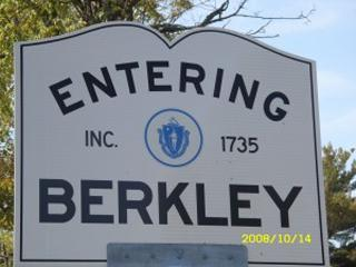 Entering Berkley Sign