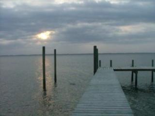 Dock extending into the ocean